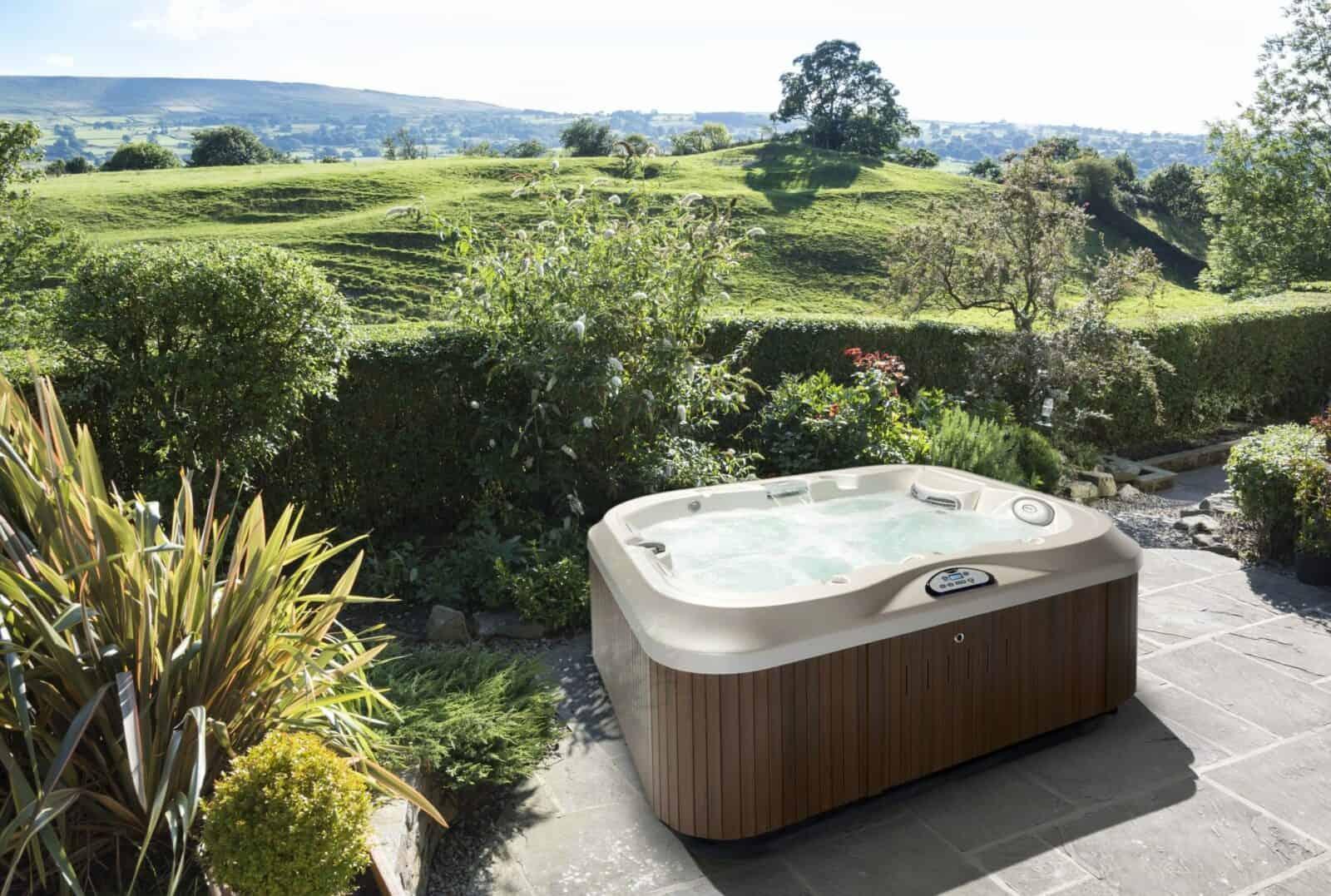 Outdoor Hot Tub Installation